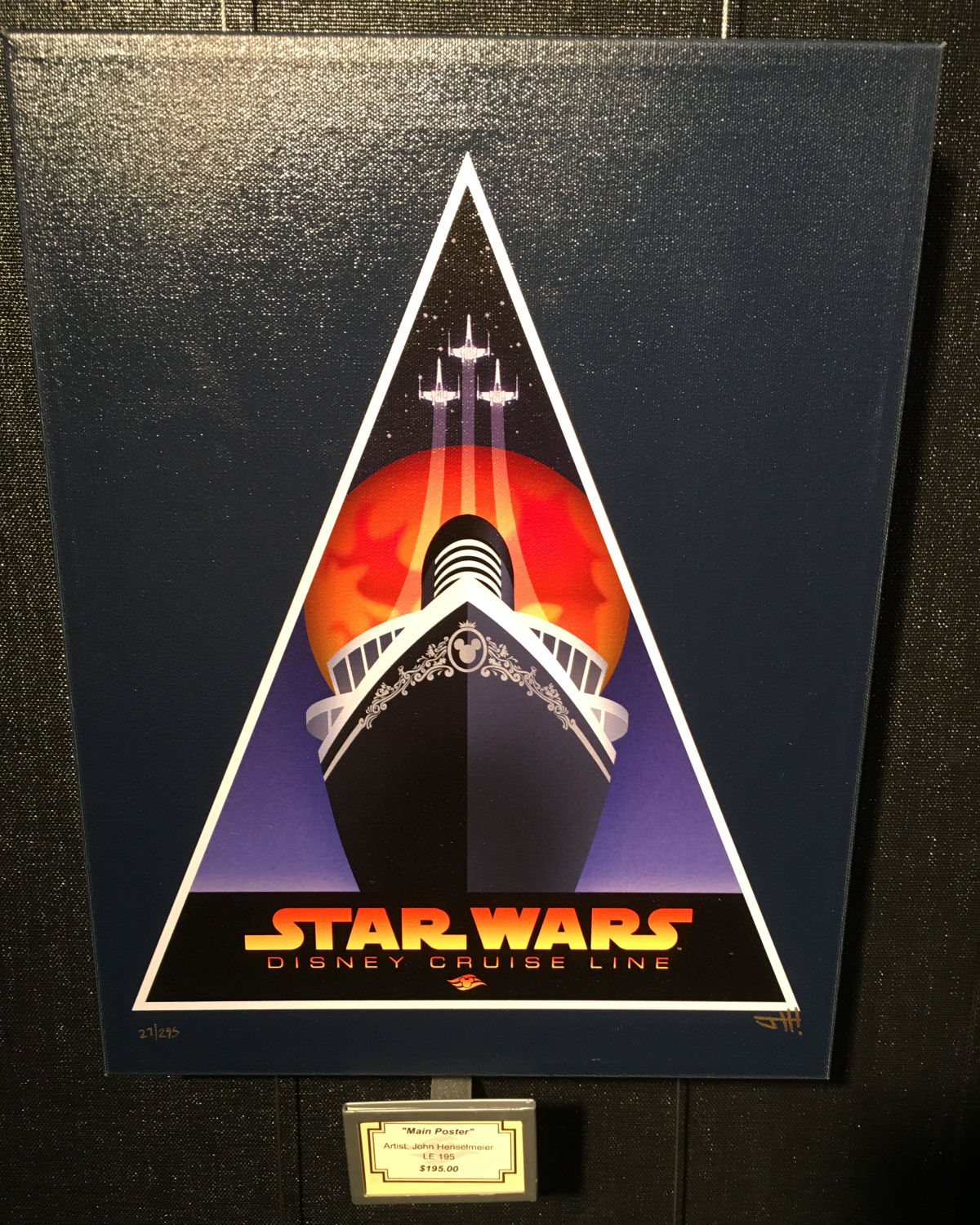 Disney Cruise Line Star Wars Merchandise Photos